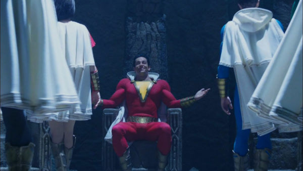 Shazam! deleted scenes feature more of the Shazam Family, an alternate Carnival Fight, and a Black Adam tease