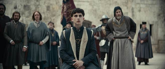 Timothee Chalamet featured in first image from David Michôd's The King