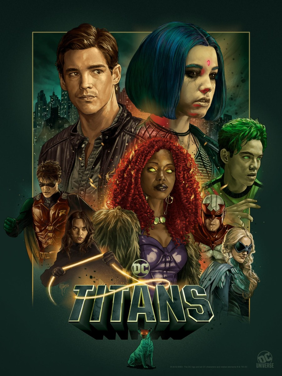 Dc Universe Unveils Sdcc Posters For Titans Swamp Thing Young