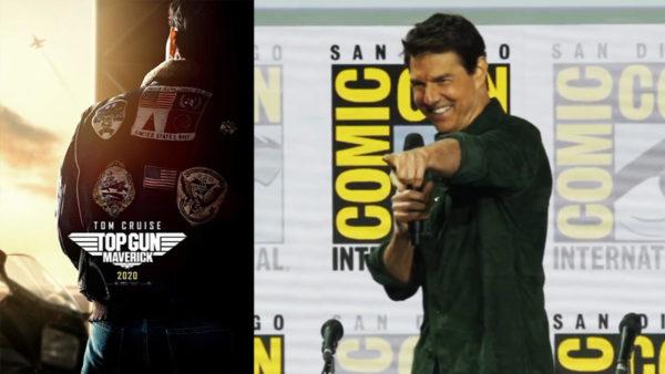 Watch Tom Cruise surprise Comic-Con with Top Gun Maverick trailer