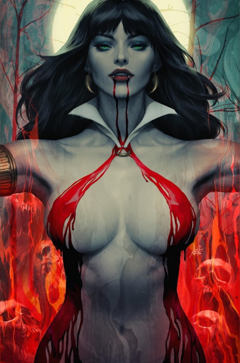 Vampirella Artgerm Collectible Bust incoming from Sideshow