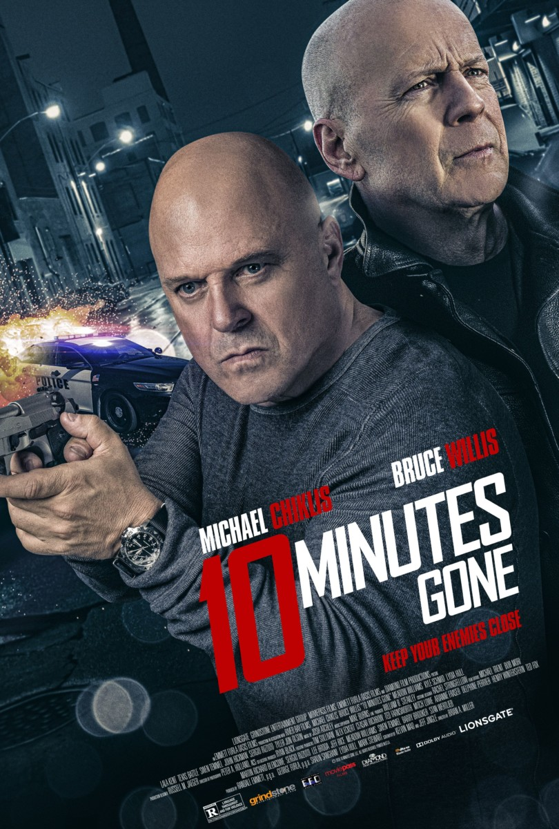 Bruce Willis and Michael Chiklis star in trailer for 10 Minutes Gone