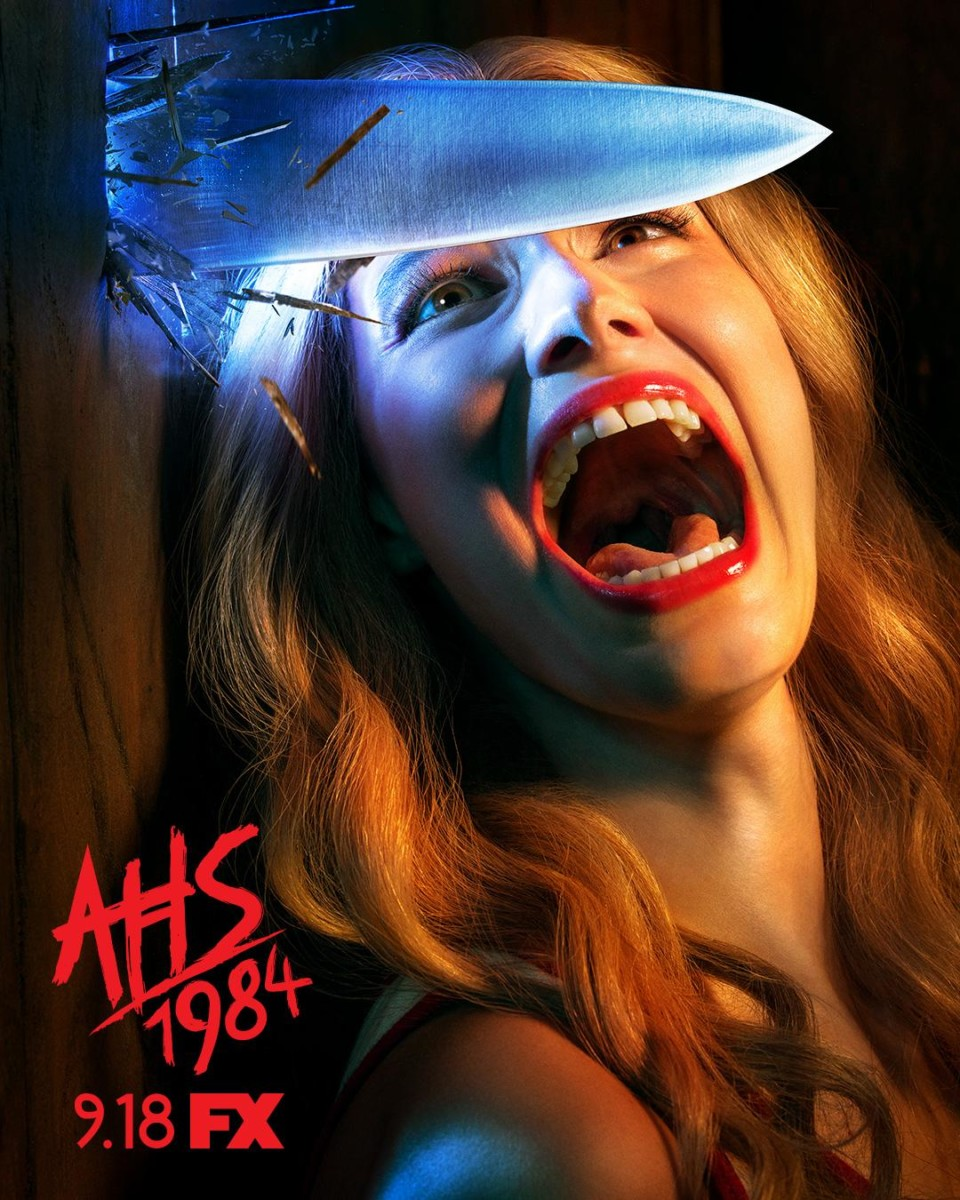 American Horror Story: 1984 gets a slasher-style poster