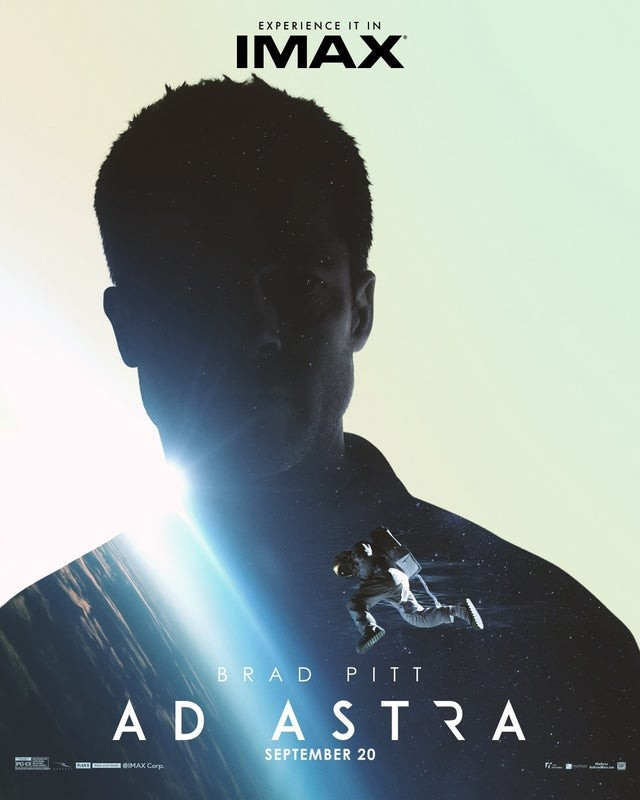 Brad Pitt sci-fi Ad Astra gets an IMAX trailer and poster