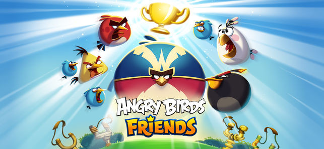 Angry Birds Friends flies on to the Microsoft Store