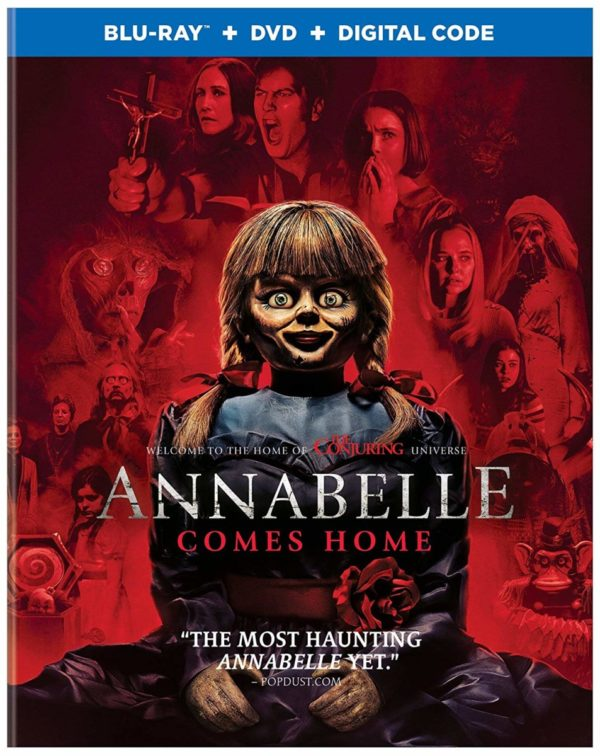 Blu Ray Review Annabelle Comes Home 2019