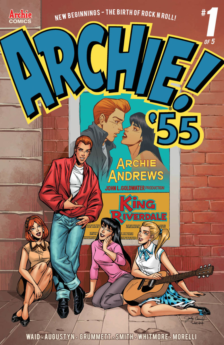 Riverdale rocks out in preview of Archie 1955 #1