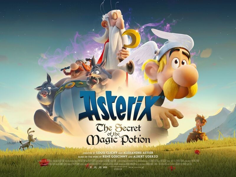 Asterix: The Secret of the Magic Potion gets a UK trailer and poster
