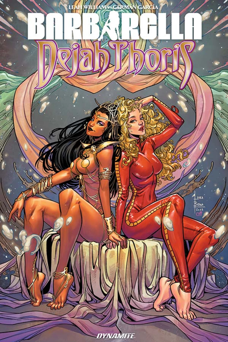 Comic Book Preview - Barbarella/Dejah Thoris