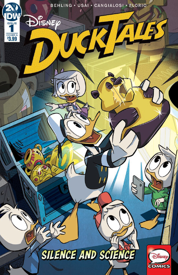 Comic Book Preview - DuckTales: Silence & Science #1