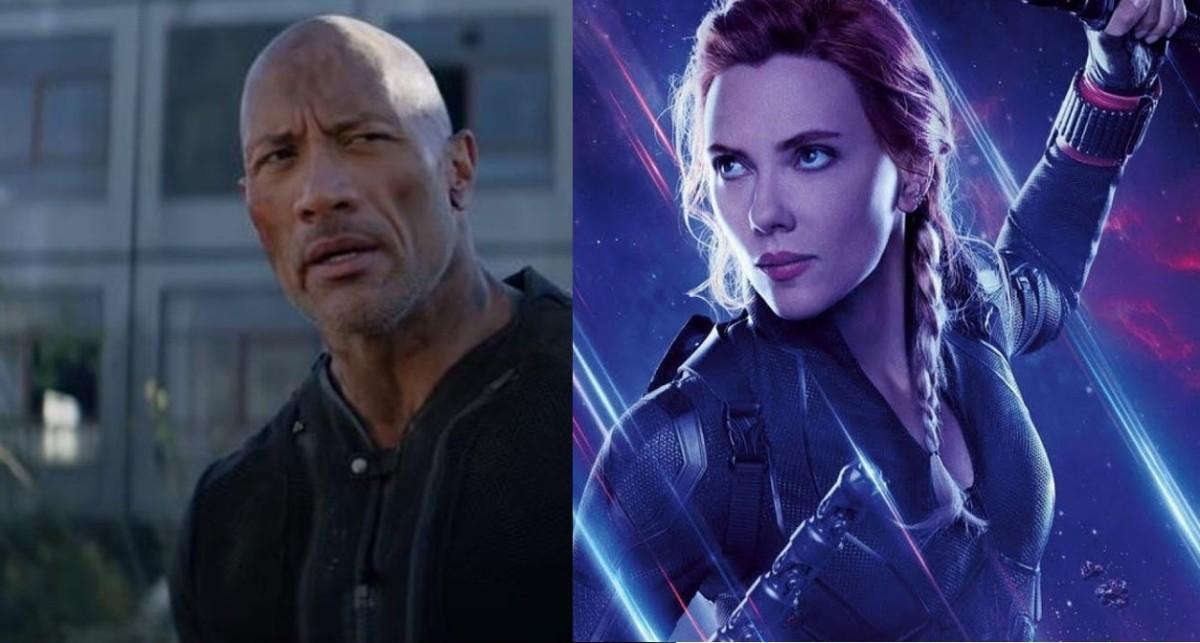 Dwayne Johnson and Scarlett Johansson top list of 2019's highest-earning stars