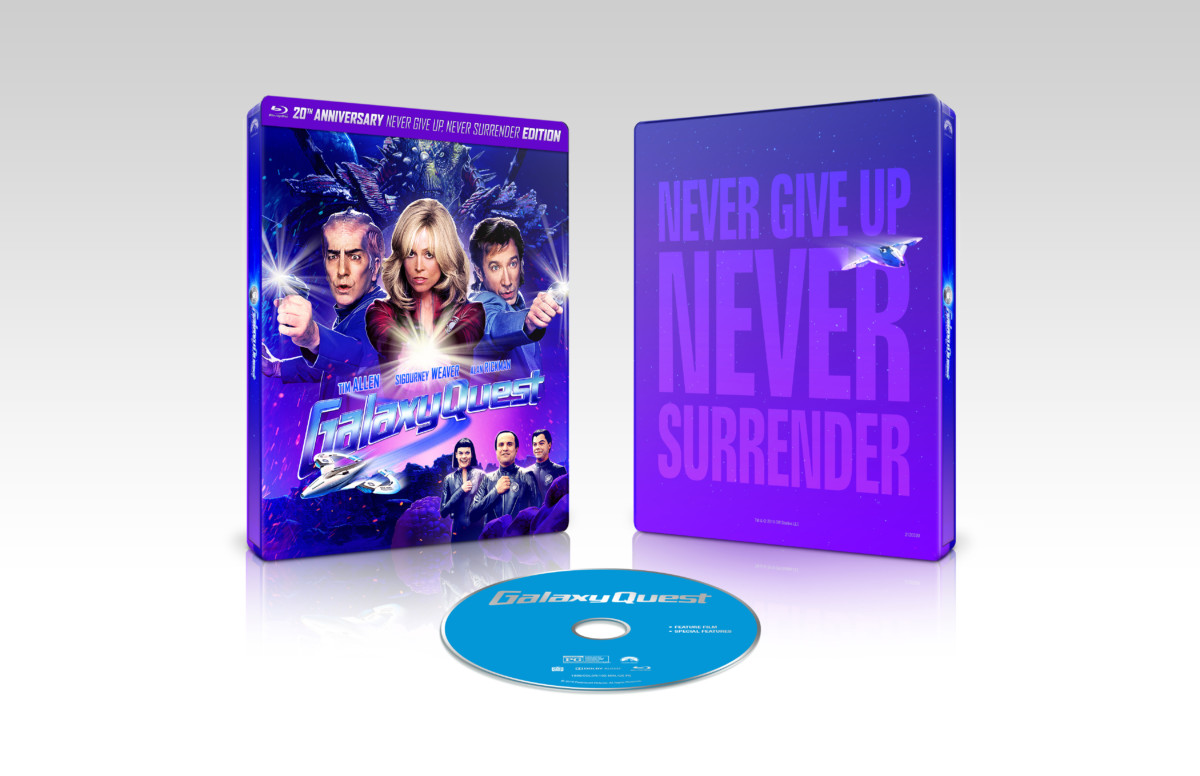 Galaxy Quest celebrates 20th anniversary with new limited edition steelbook