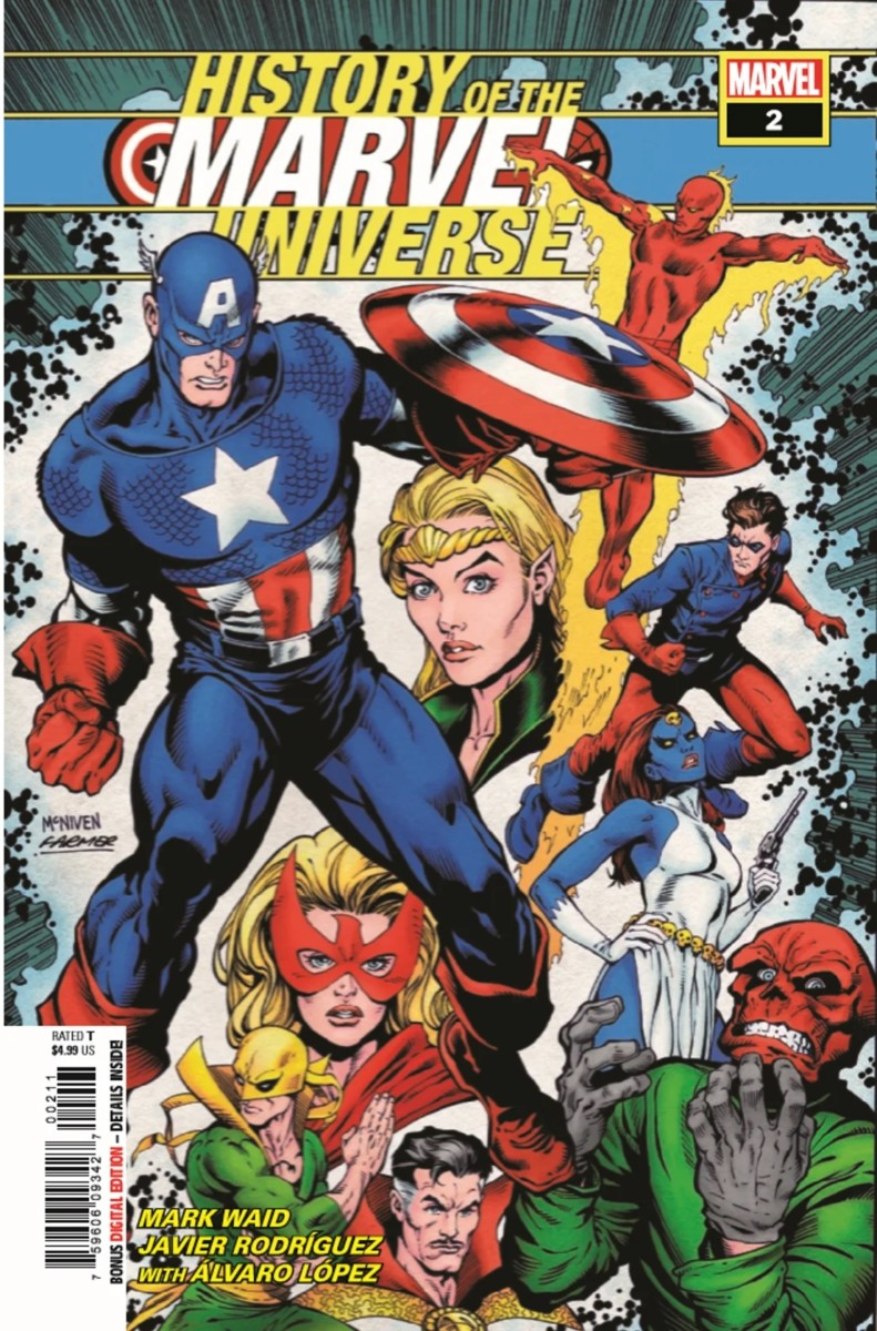 Comic Book Preview – History of the Marvel Universe #2