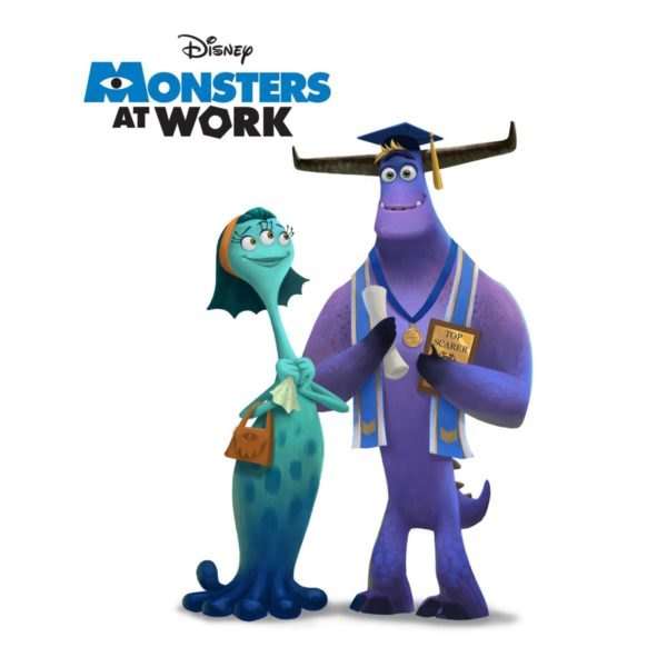New Character Artwork From Monsters Inc Spinoff Series Monsters At Work