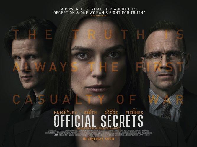 2019 BFI London Film Festival Review - Official Secrets
