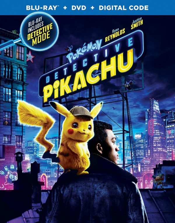 Blu Ray Review Pokemon Detective Pikachu 2019