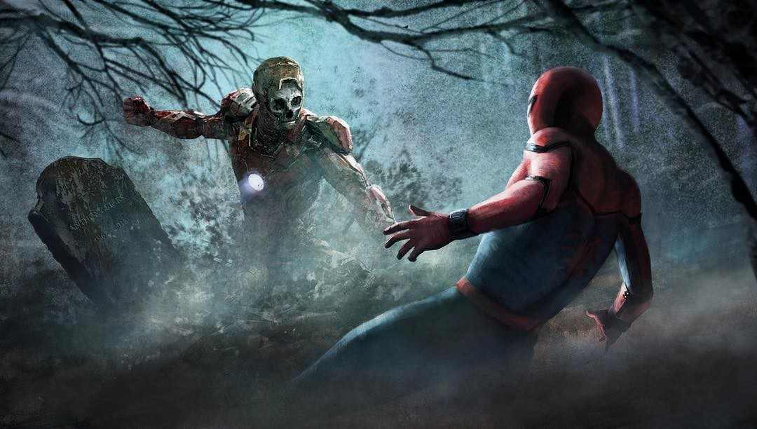 Spider-Man-Far-From-Home-zombie-concept-art-1