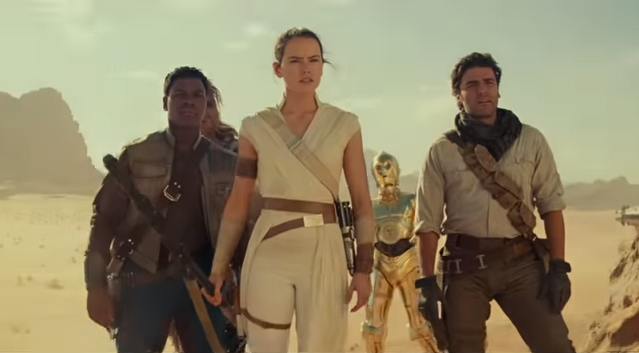 """Star Wars' Daisy Ridley believes it is a """"shame"""" that Rey, Finn and Poe only came together for one film"""
