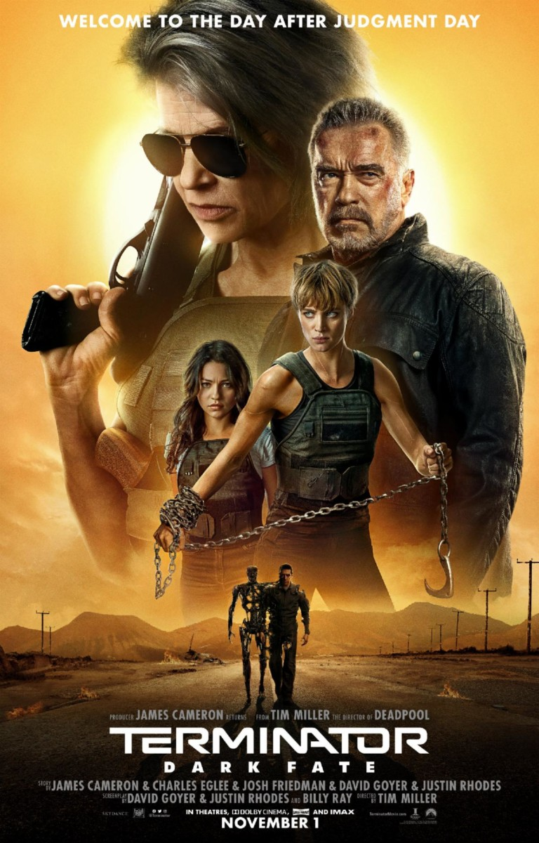 Terminator: Dark Fate gets an action-packed new trailer and posters