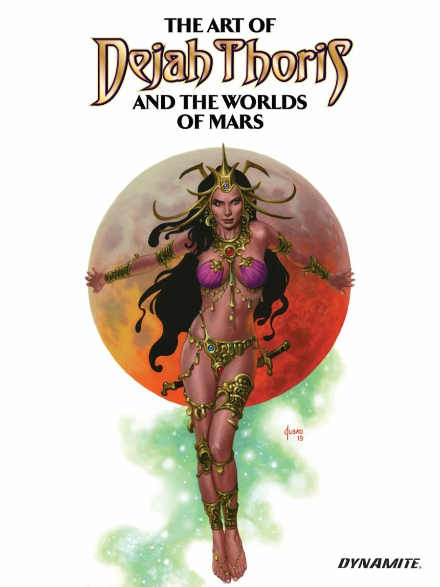 Check out a preview of The Art of Dejah Thoris and the Worlds of Mars Vol. 2