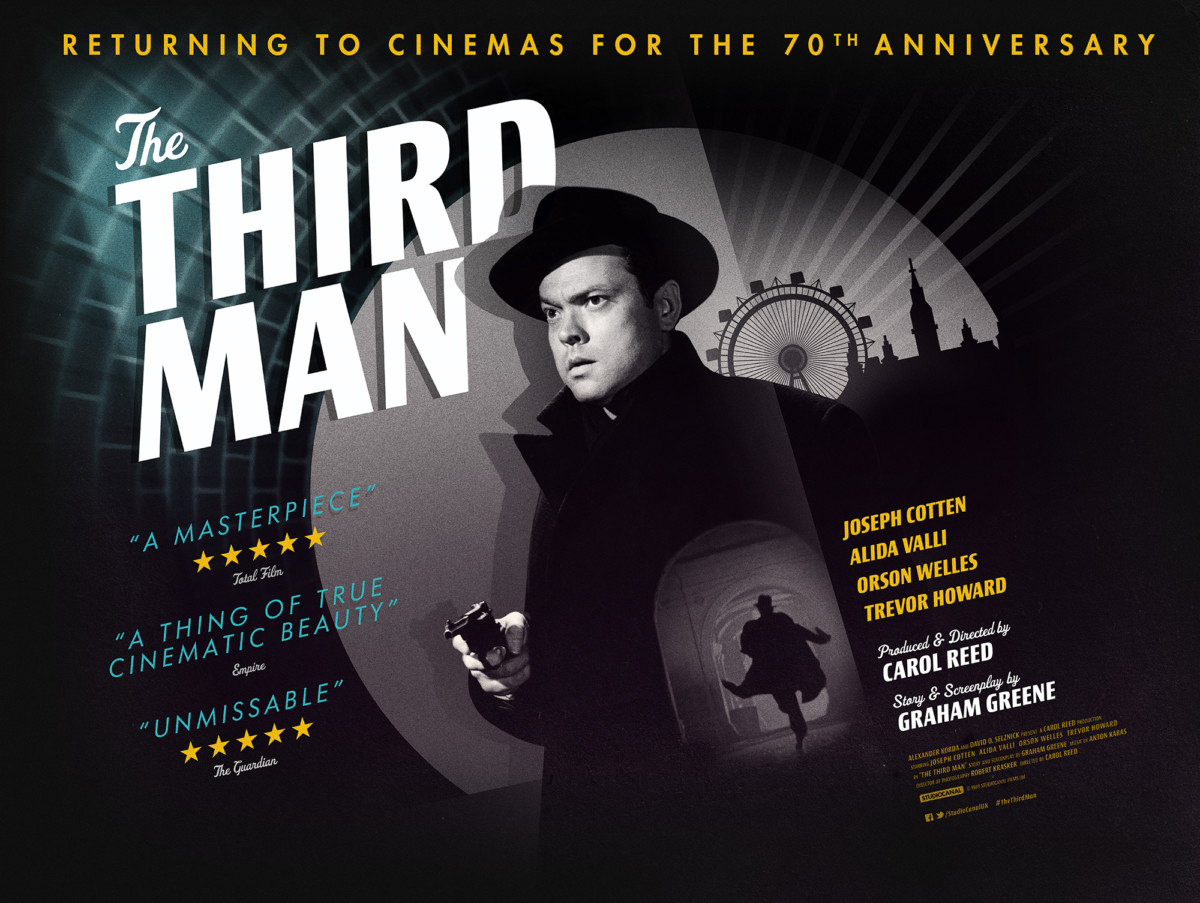 The Third Man to receive 4K theatrical release for 70th anniversary