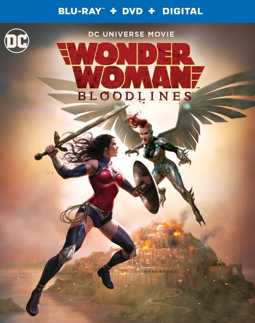 Wonder Woman: Bloodlines release details and special features revealed