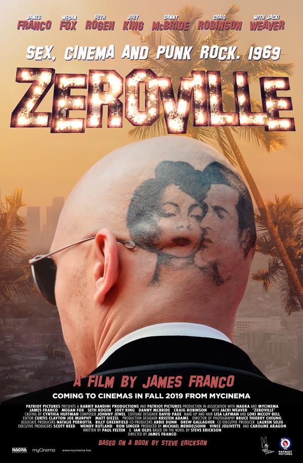 James Franco's Zeroville gets a trailer and posters