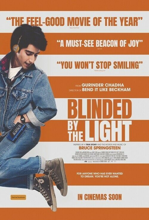 Movie Review Blinded By The Light 2019 Flickering Myth