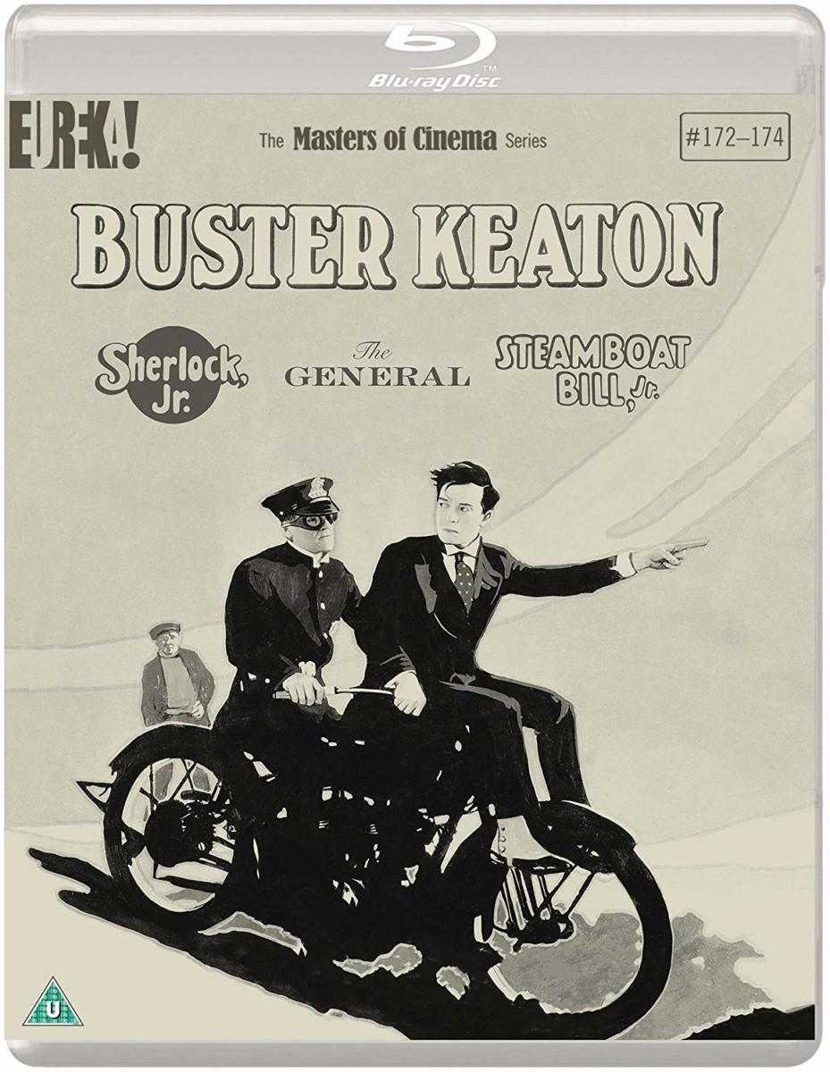 Giveaway – Win Buster Keaton's Sherlock Jr., The General, and Steamboat Bill Jr. on Blu-ray