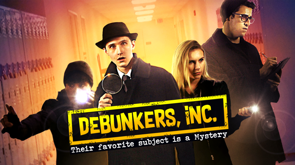Watch an exclusive clip from high school murder mystery Debunkers, Inc.