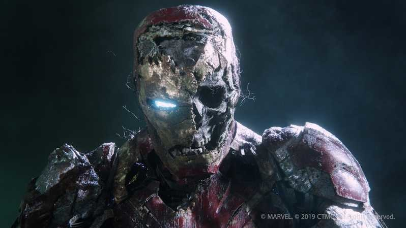Spider-Man: Far From Home concept art features an army of Iron Man zombies