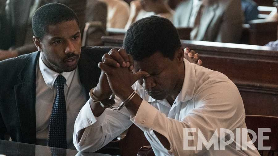 First look images from true-life crime drama Just Mercy starring Michael B. Jordan and Jamie Foxx