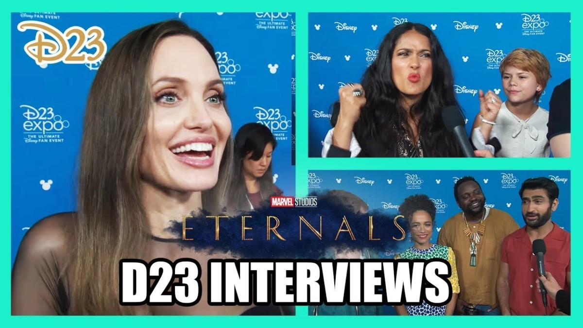 Watch Marvel's Eternals, WandaVision, The Falcon and the Winter Soldier, Loki and What If? interviews from D23