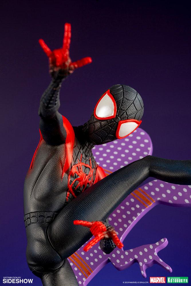 Kotobukiya's Spider-Man: Into the Spider-Verse Miles Morales (Hero Suit) collectible revealed