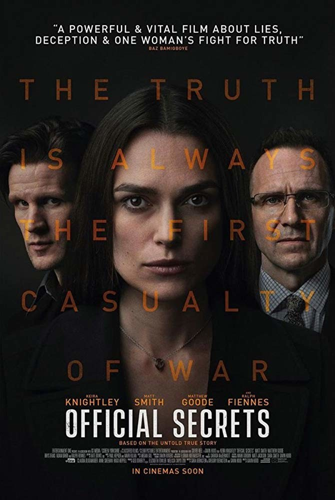 Movie Review - Official Secrets (2019)