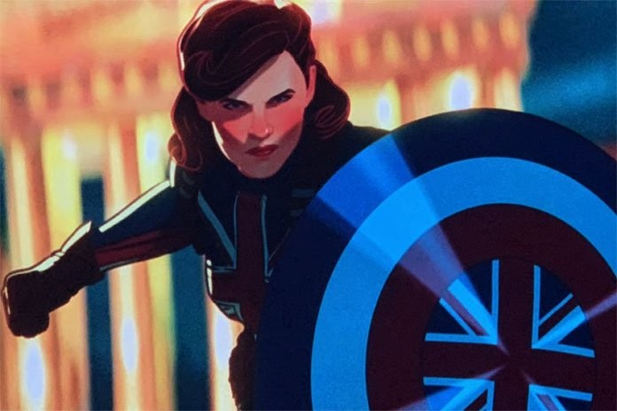 Hayley Atwell's Peggy Carter is Captain Britain in Marvel's What If...? image