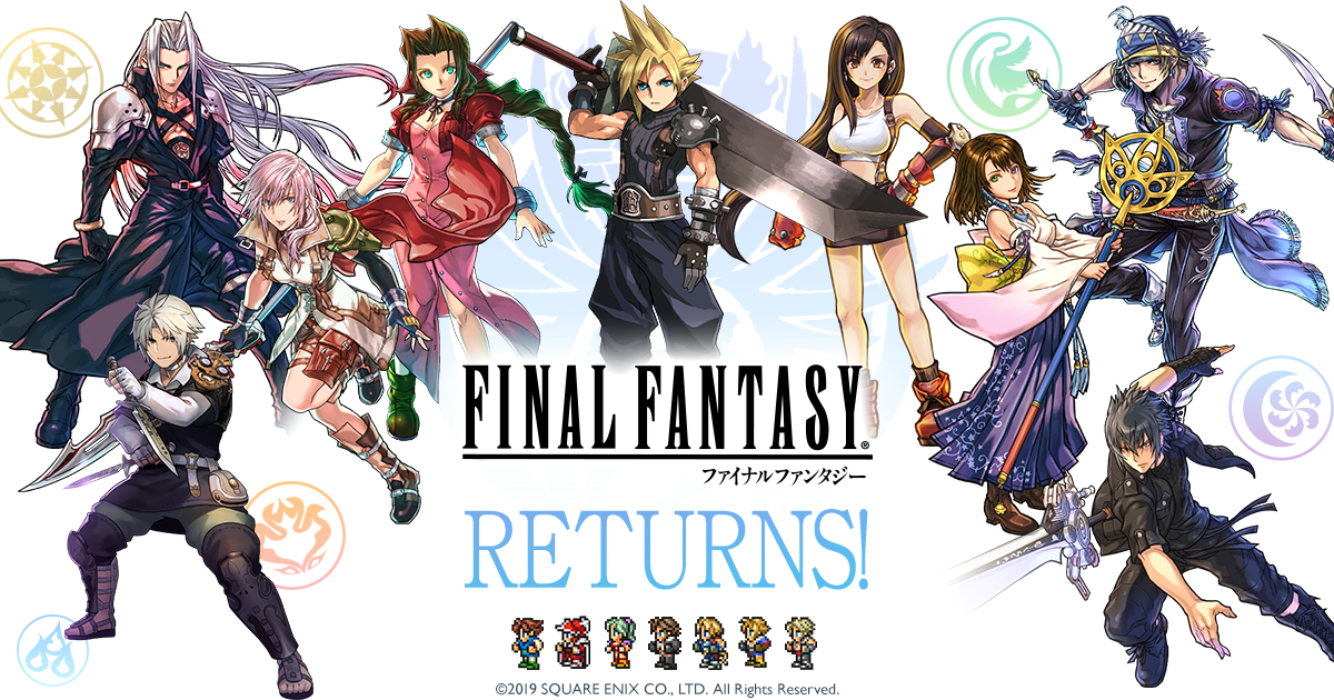 Final Fantasy returns to Puzzle and Dragons