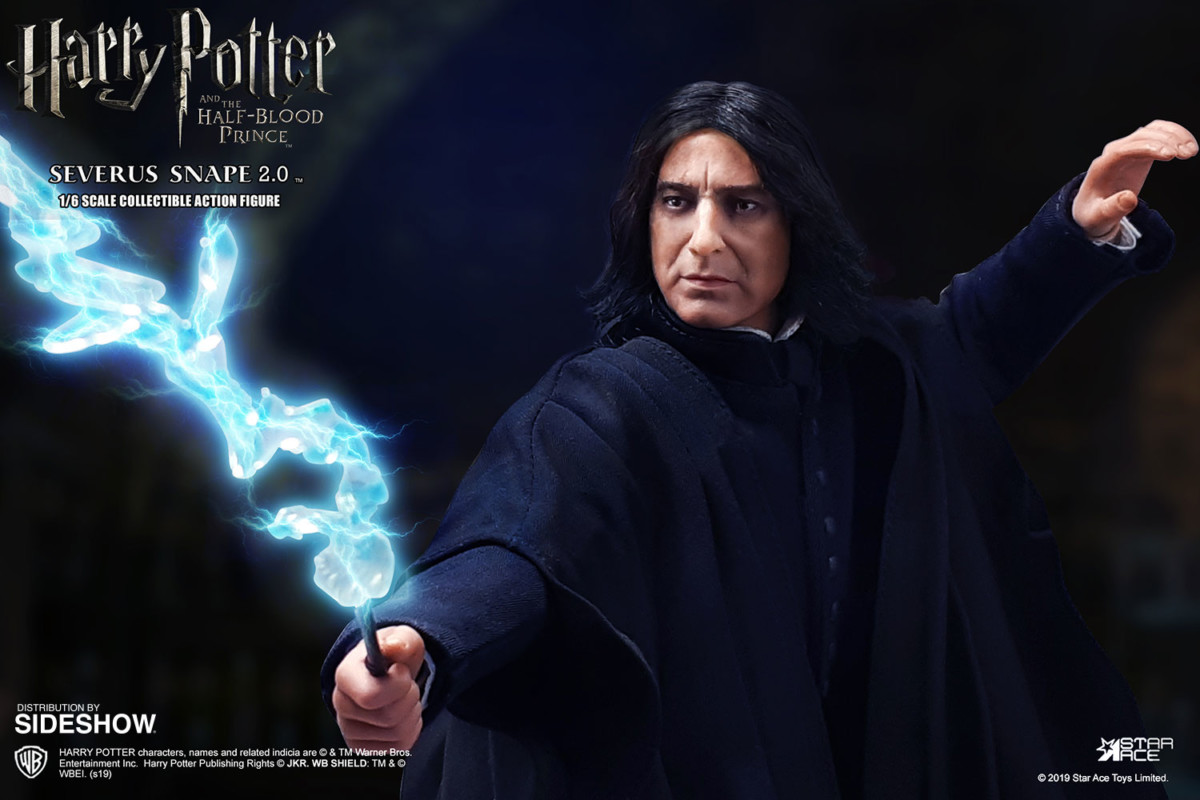 Harry Potter and the Half-Blood Prince Severus Snape collectible figure unveiled by Star Ace Toys