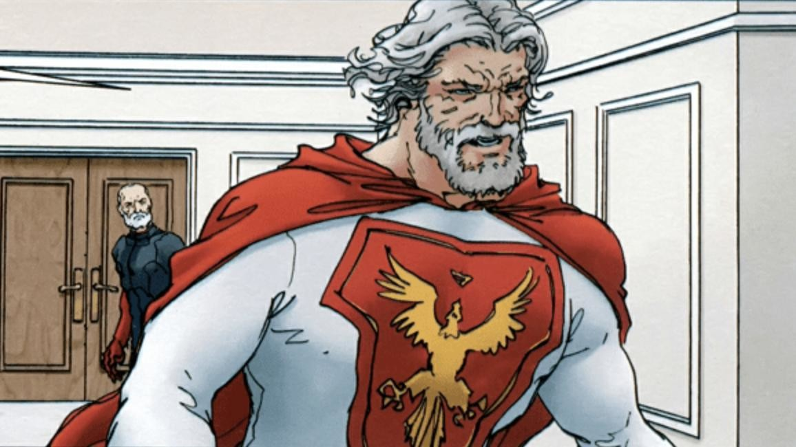 Josh Duhamel is The Utopian in first set photos from Jupiter's Legacy TV series