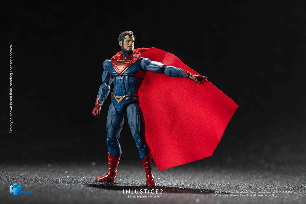 Injustice 2's Superman gets a PREVIEWS exclusive action figure from Hiya Toys