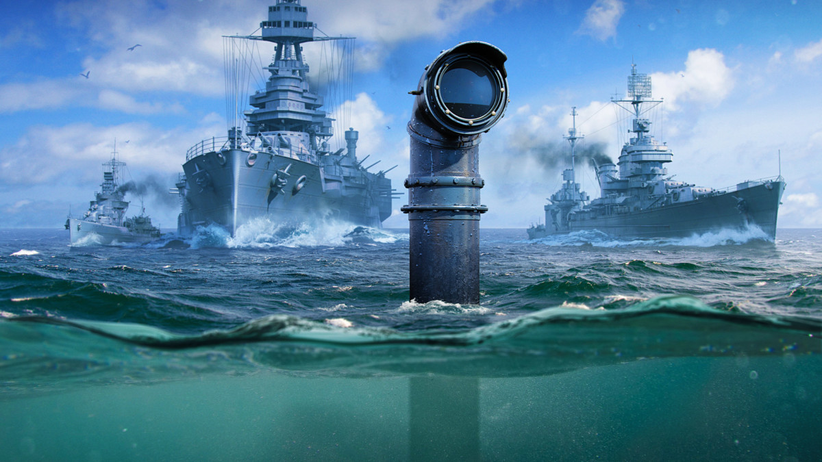 Prepare the depth charges as submarines are heading to World of Warships