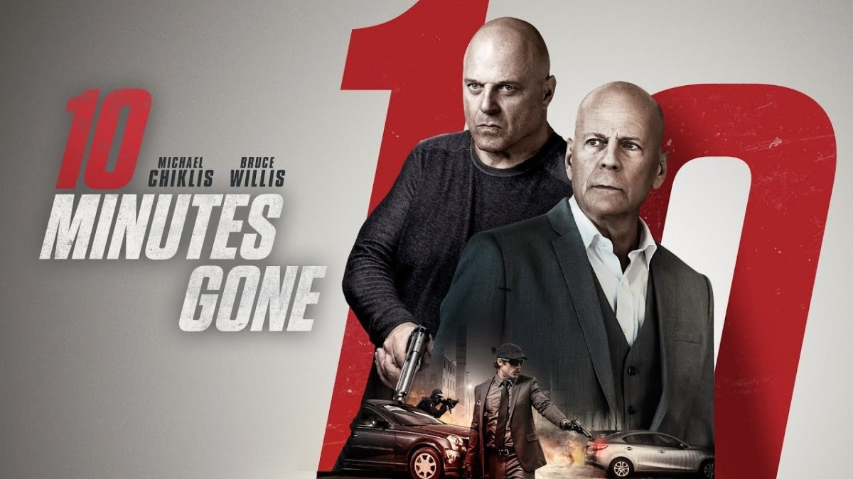 Watch an exclusive clip from 10 Minutes Gone starring Bruce Willis and Michael Chiklis