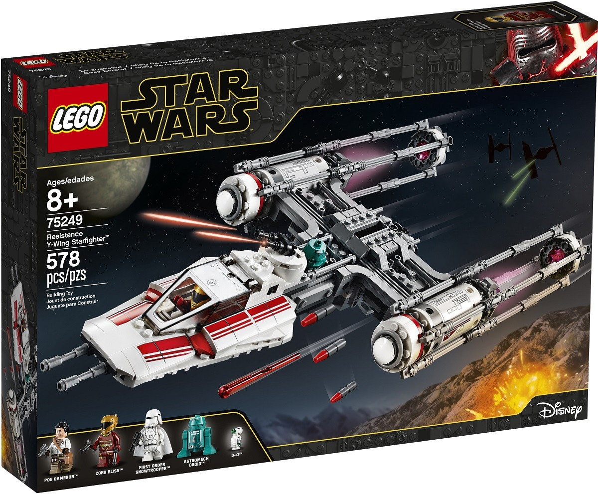 Lego Unveils Star Wars The Rise Of Skywalker And The Mandalorian Sets