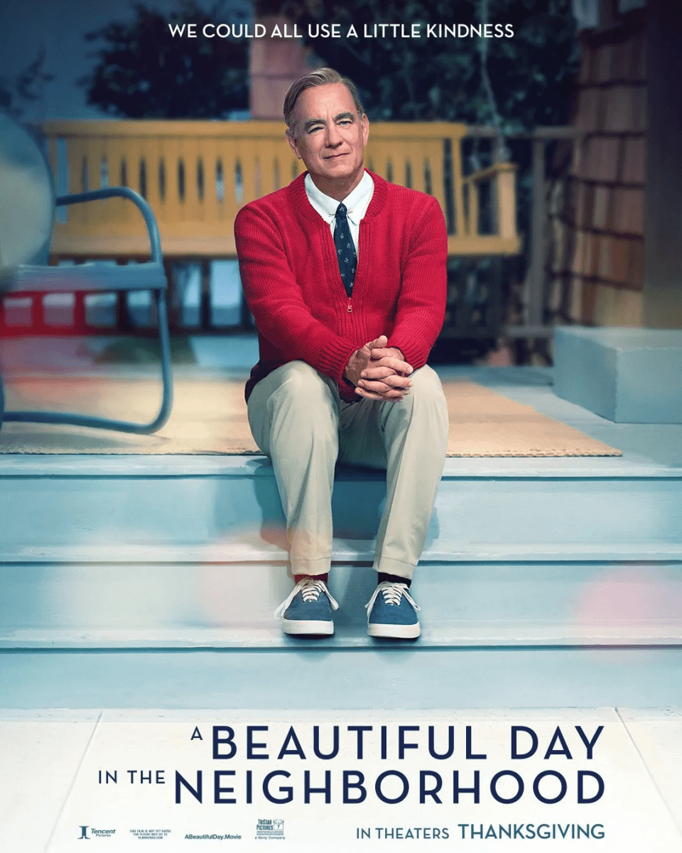 Tom Hanks Is Mr Rogers On A Beautiful Day In The Neighborhood Poster