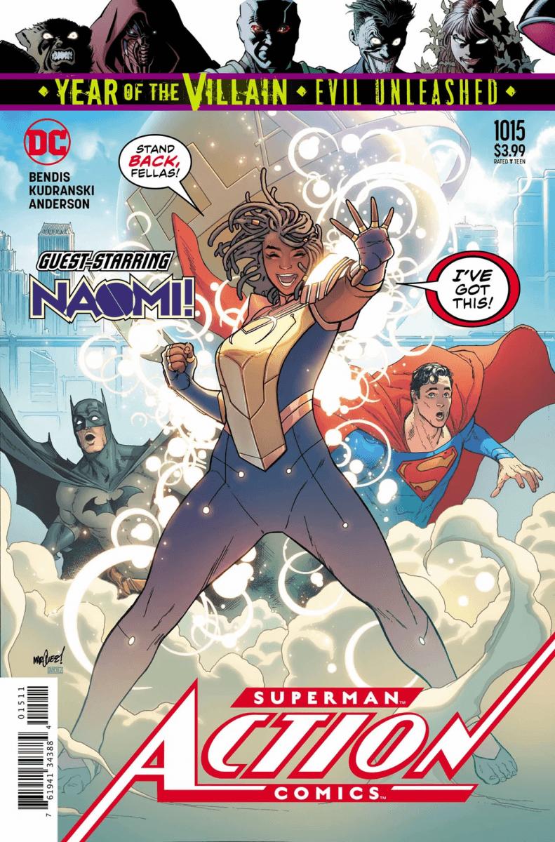 Comic Book Preview - Action Comics #1015