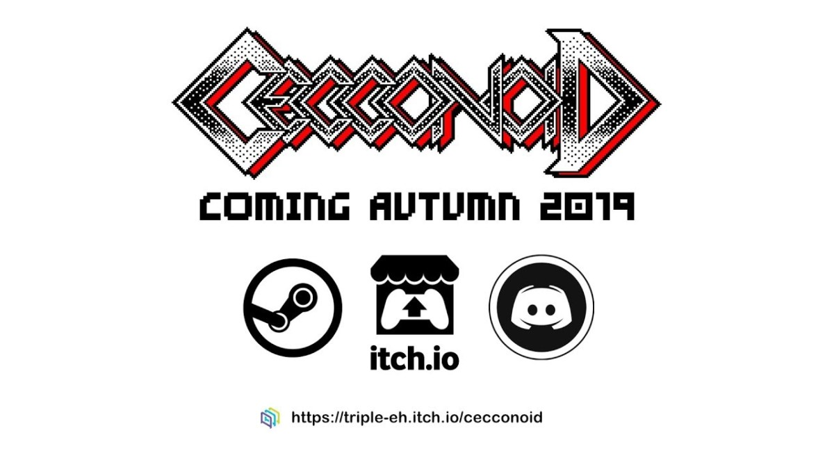Retro inspired shoot-em up Cecconoid coming to PC this autumn