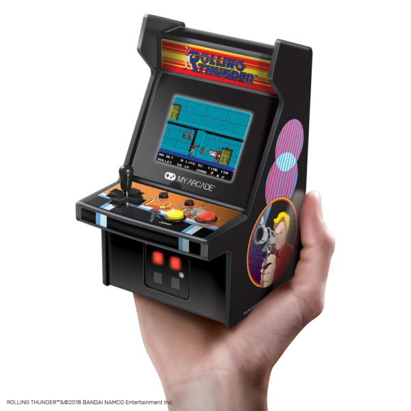 My Arcade releases Rolling Thunder, Ms  Pac-Man and Bubble