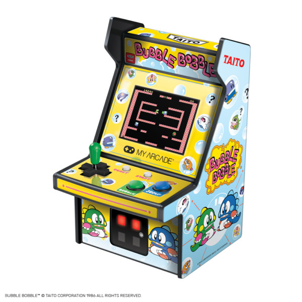 My Arcade releases Rolling Thunder, Ms. Pac-Man and Bubble Bobble Micro Players