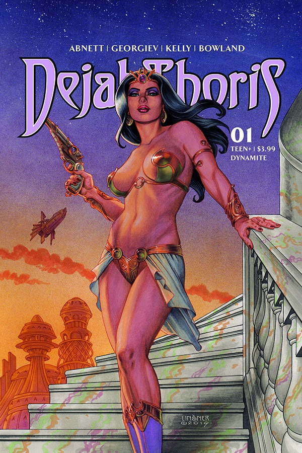 Dejah Thoris to lead new comic book series from Dynamite