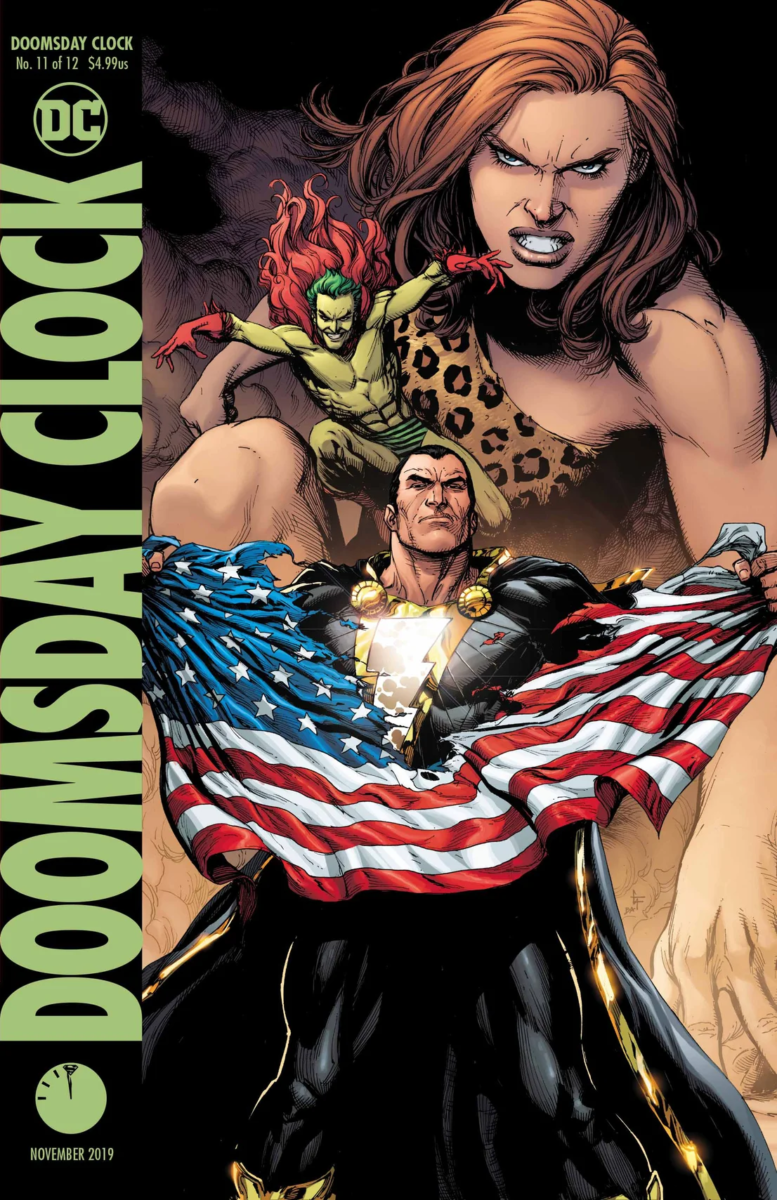 Comic Book Preview Doomsday Clock 11